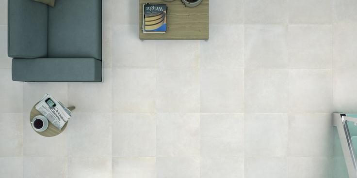 Azulev Enigma Flis i betongstil til gulv og vegg, Ute og inne. Frostsikker.