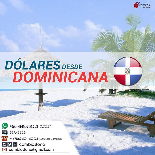 """En Nuestro Compromiso De Ofrecerte El Mejor Servicio Recibimos Tus $$ En Dominicana A La Tasa Que Buscas ¡La mejor! Método Ideal Para Enviar Remesas. 🏠💰 Metodo Seguro y Confiable - Chase (USA) 🇺🇸 Well Fargo (USA) 🇺🇸 BB&T Bank (USA) 🇺🇸 Cayman Bank (CAYMAN ISLA) 🇰🇾 City Bank (USA) 🇺🇸 Secu Bank (USA) 🇺🇸 Bank of America (USA) 🇺🇸 Banesco (PANAMA) 🇵🇦 Credicorp (PANAMA) 🇵🇦 Banistmo (PANAMA) 🇵🇦 Mercantil Bank (PANAMA, USA) 🇵🇦🇺🇸 Banco Estado (CHILE) 🇨🇱 Interbank (PERU)…"