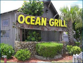 Vero Beach, FL...crab cakes with mango salsa and salad with house dressing...YUM!!