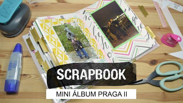 Mini álbum Praga II - Scrapbook - UGDT