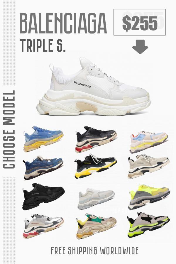New sneakers Balenciaga Triple S