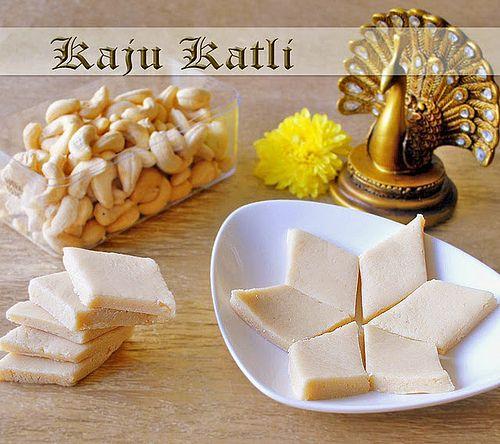 Diwali+Sweets+Recipes   KAJU KATLI RECIPE   INDIAN DIWALI SWEET RECIPES   RAK'S KITCHEN