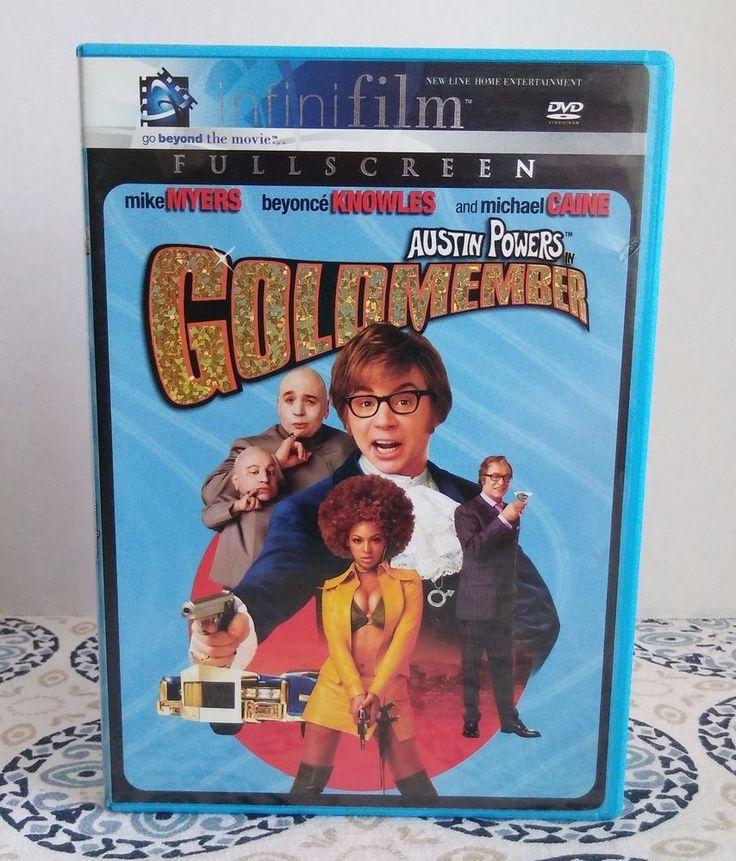 Austin Powers in Goldmember DVD, 2002, Full Frame Infinifilm Series