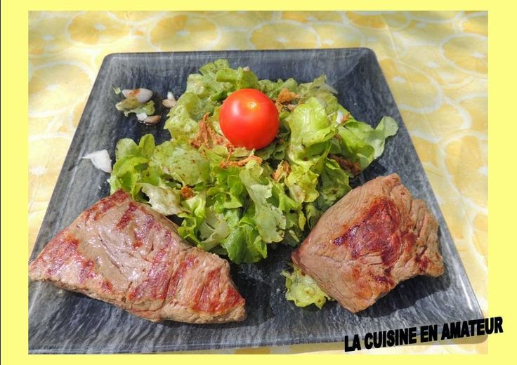 La cuisine en amateur de Maryline: Steak de porc grillé