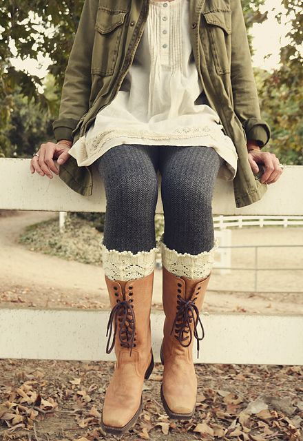 Ravelry: Asheville Boot Liners pattern by Pam Powers