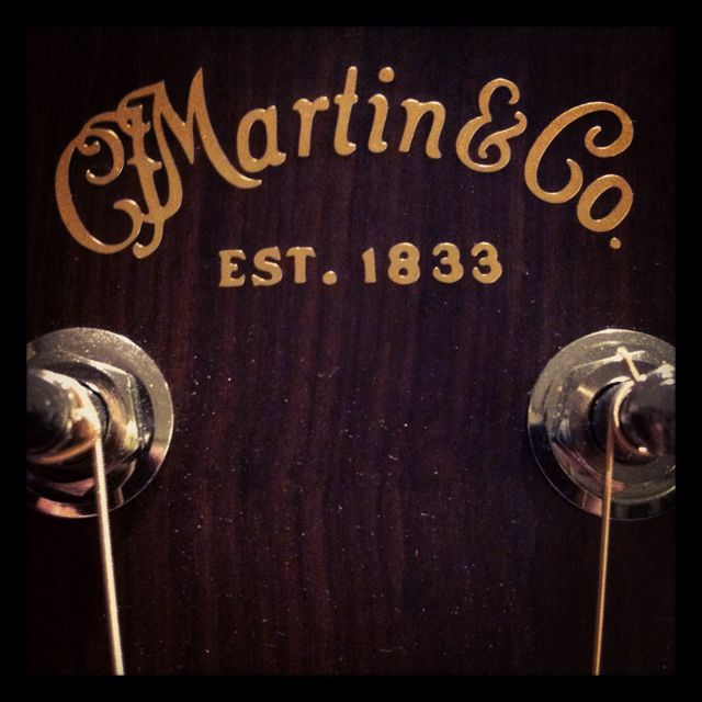 Im a bit of a Martin Guitar girl...