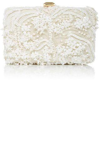 38 Best Bridal Clutches: Elie Saab.