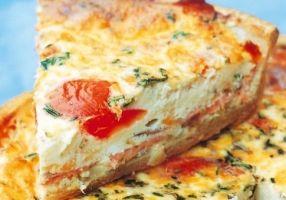 Quiche au saumon fumé - Recettes - Cuisine française