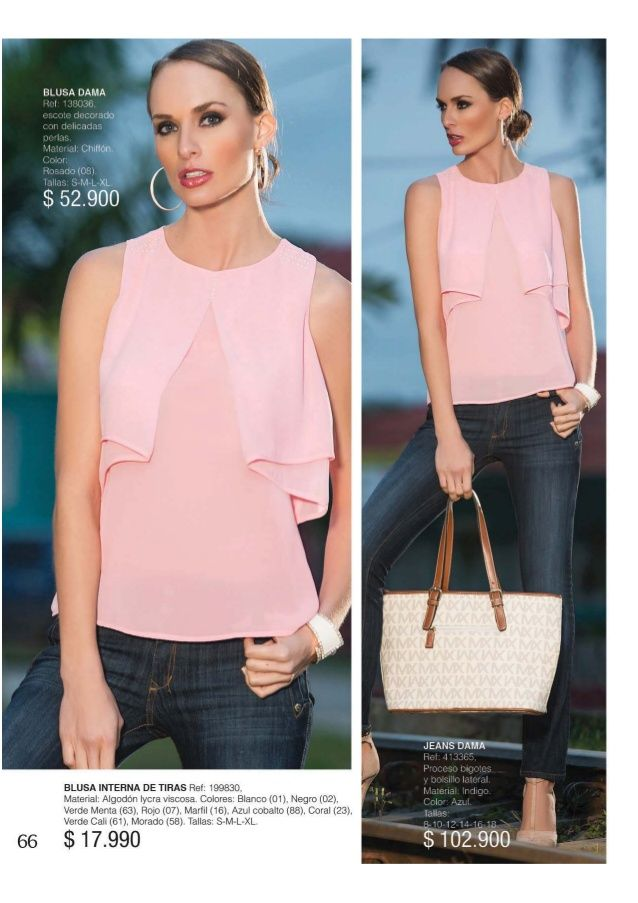 Resultado de imagen para blusas dama catalogo