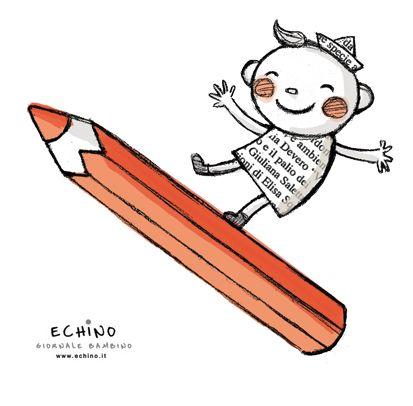 Buongiorno parole prestate! | @Echino Giornale Bambino - Casa Editrice Mammeonline