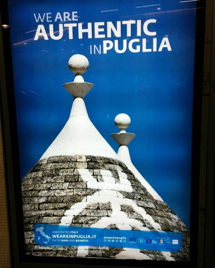 """Even in UK they know the quality of the people coming from Puglia! #advertising #london #puglia #igrespuglia #picoftheday #holidays #wonderfulplaces"""