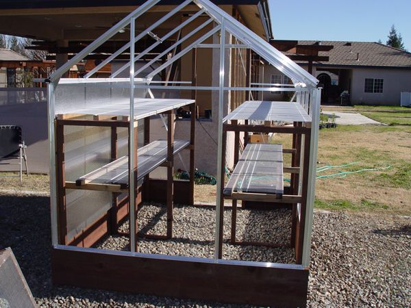 Building and improving the Harbor Freight greenhouse