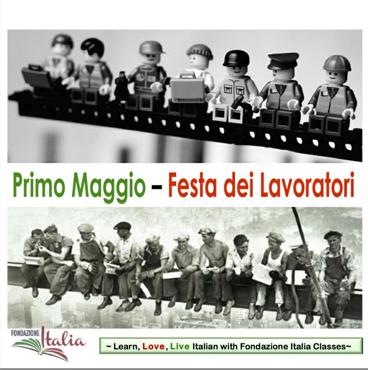 Primo Maggio - Festa dei lavoratori. May Day