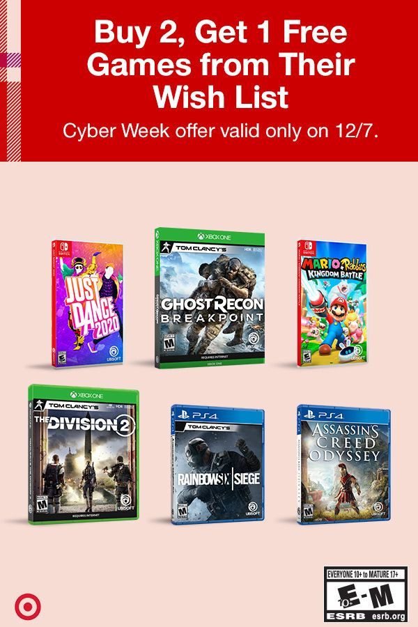 Save On Your Holiday Game Gifting When You Buy 2 And Get 1 Game