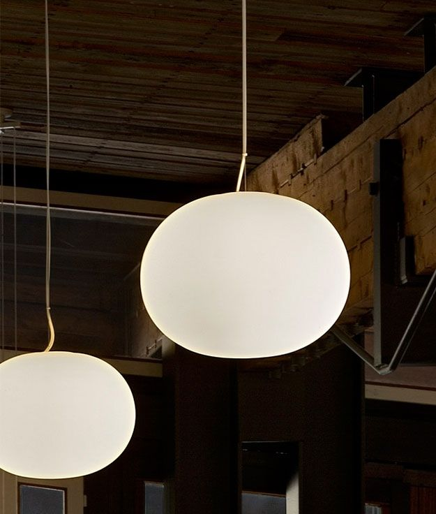 Glo ball s2 pendant light by flos pendant lamps for Flos bathroom light