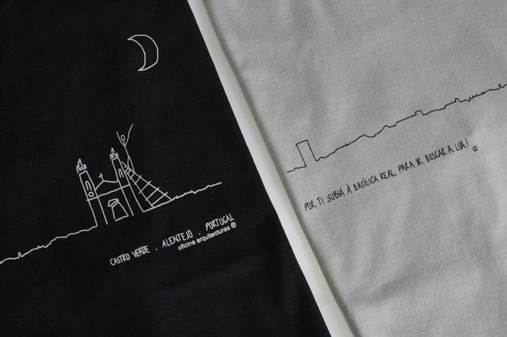 T-shirt 'POR TI SUBIA À...' CASTRO VERDE