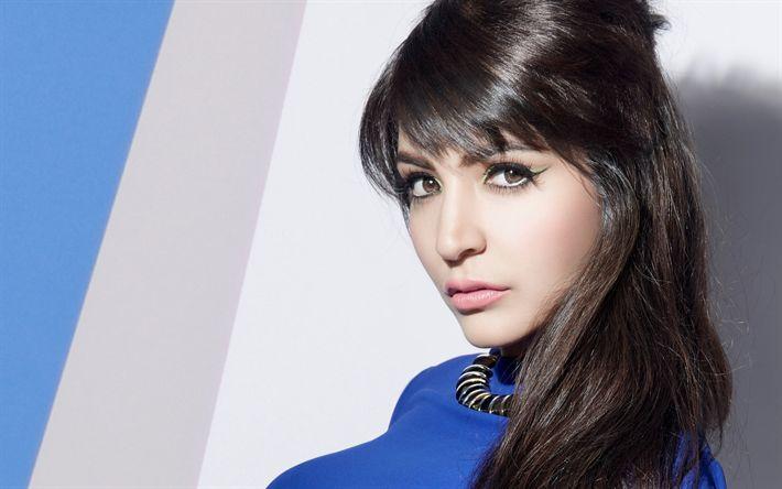 壁紙をダウンロードする ボリウッド, Anushka Sharma, 美女, 美, 肖像