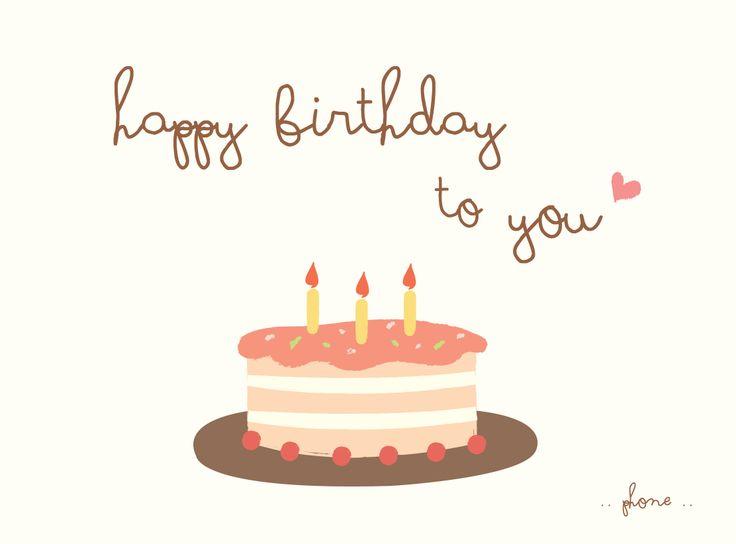 Happy Birthday Sweet Cake <3