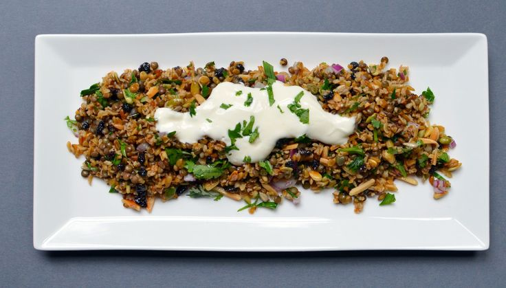 Cypriot grain salad – best salad ever….   merci mama
