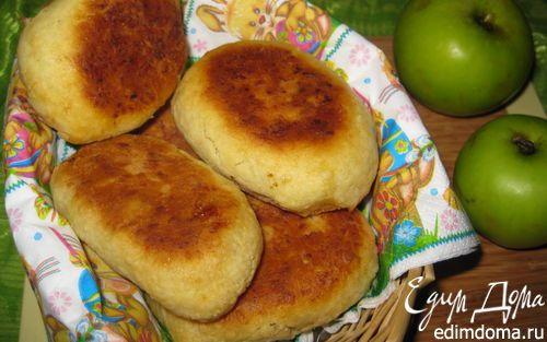 Картофельные пирожки с яблоками | Кулинарные рецепты от «Едим дома!»