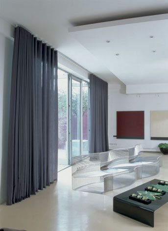 Wave curtainsBest 20  Contemporary curtains ideas on Pinterest   Contemporary  . Modern Living Room Drapery Ideas. Home Design Ideas