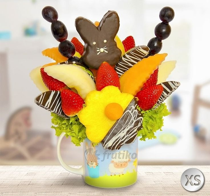 Easter bunny will make all children happy on Easter #eastergift #easterprague #easterbunny #easterfrutiko http://www.frutiko.cz/en/easter