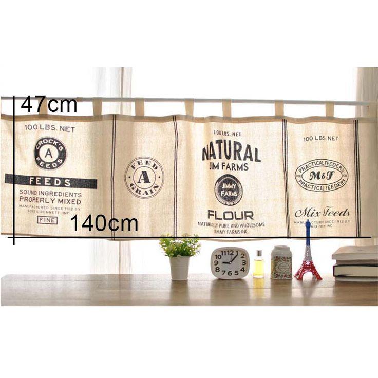 moderne noir et blanc minimaliste style cuisine demirideau cuisine rideau caf court panneau. Black Bedroom Furniture Sets. Home Design Ideas