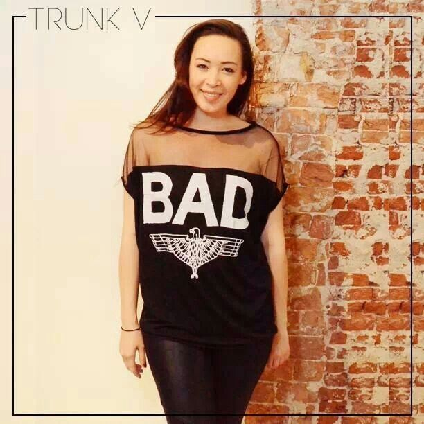 New arrival - sexy bad Rihanna inspired tshirt! Available on trunkv.com - international shipping