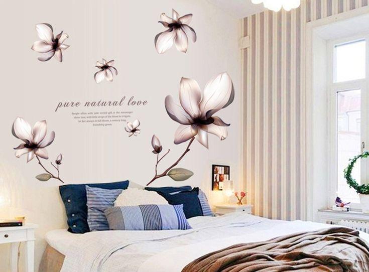 Oltre 25 fantastiche idee su murales per la camera da letto su pinterest murales muri di - Adesivi murali camera da letto ...