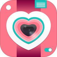Crème & Suiker - de tbh meisjes alleen hipster IG fotocollage sticker kam dat schept foto strips, kollages, foto's editor met filters, Mooie beeld bijgesneden voor Instagram' van Black Salt Studios, Inc
