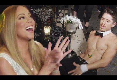 Mariah Carey treated to sexy lap dance from Bryan Tanaka