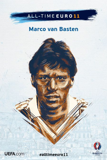 Marco van Basten - All-time EURO 11 Nominee