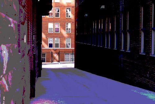 Alley in New York City