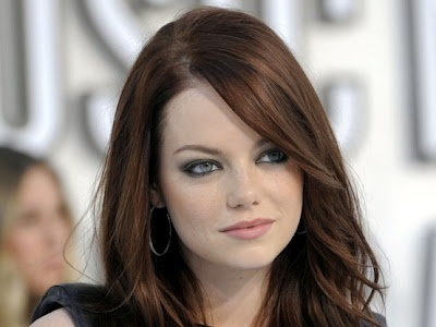 Love this hair color and eye makeup! Top 100 Medium Hairstyles 2014