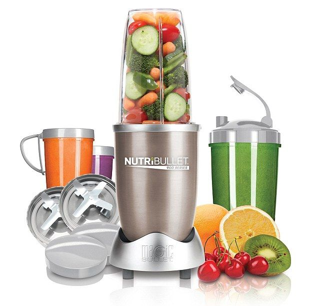 The trendiest of all is the £100 Nutribullet, which was one of John Lewis's top-sellers at...