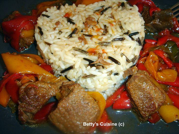 Betty's Cuisine: Μοσχάρι με πιπεριές