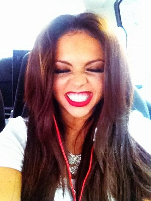 Jesy tweeted about going back to the studio(: and how excited she was!