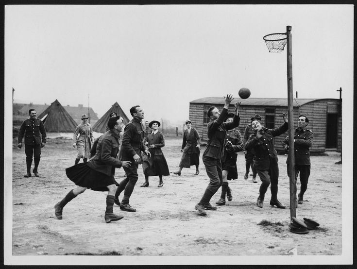 A soldiers play