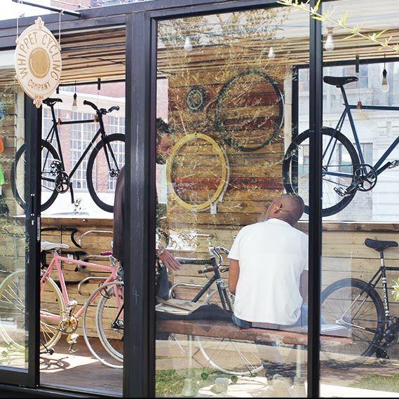 Maboneng Precinct :: Whippit Cycles :: Maverick Corner, street, Johannesburg.