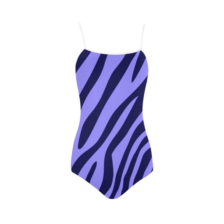 Cute ZEBRA WILD AFRICA 2016 Print designers lineart edition / New art in our atelier : Bikini collec Strap Swimsuit.