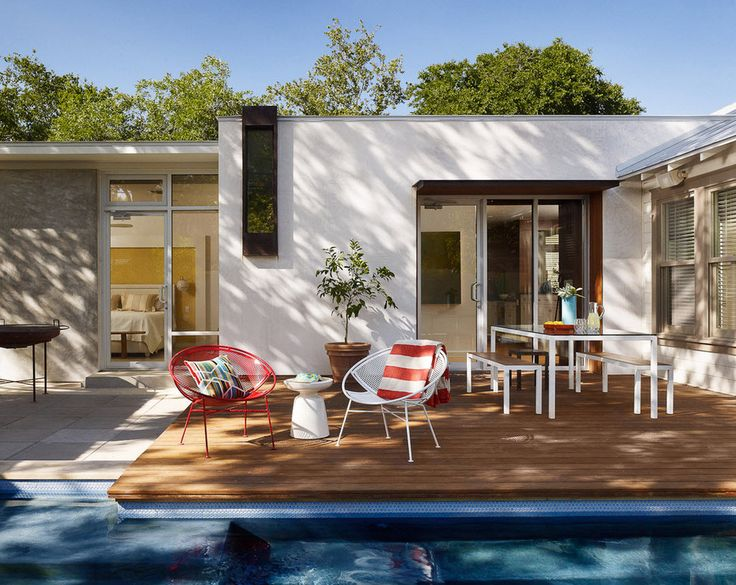 Deck Over A Pool. GartenModerne ...