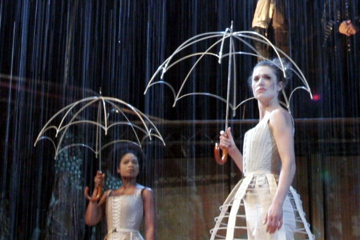 Used this for my scene design class as a representation of Sarah Ruhl's Eurydice.