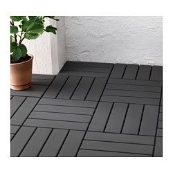 IKEA - RUNNEN, Floor decking, outdoor, Floor decking makes it easy to refresh your terrace or balcony.The floor decking is weather-resistant and easy to care for since it's made of plastic.The floor decking can be cut if you need to fit it around a corner or a pole.You can easily take the floor decking apart and put it together again if you want to clean the floor underneath.
