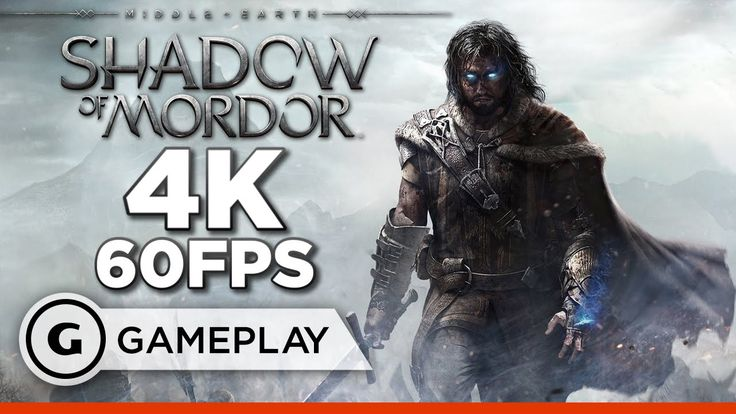 15 Minutes of PS4 Pro Middle Earth: Shadow of Mordor in 4K/60fps
