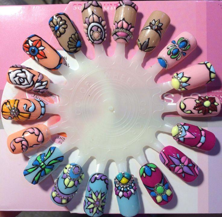 Sweet bloom дизайн ногтей