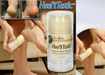 A Heel Tastic sarokápoló stift segít Neked simává és természetesen selymes tapintásúvá varázsolni a lábaid!