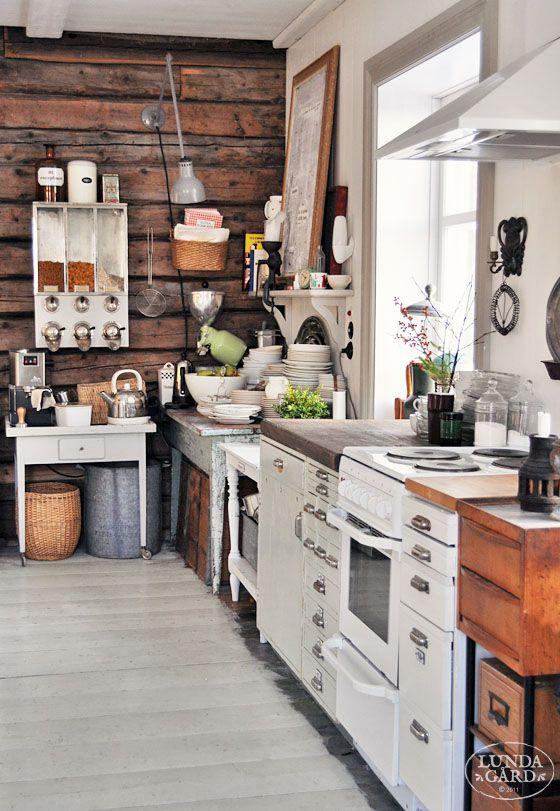 LUNDAG On RD | decor, family life, building conservation, rural life, vintage, color & shape: Kitchen