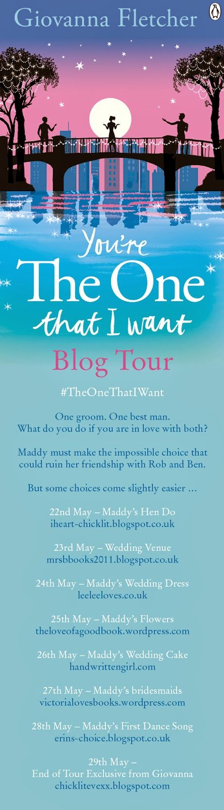 The Book Corner: You're The One That I Want - Giovanna Fletcher (Wedding Venue Exclusive!)