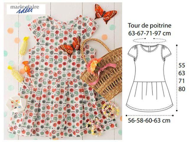 DE 100 PATRON COUTURE GRATUIT POUR ENFANT | Patron couture
