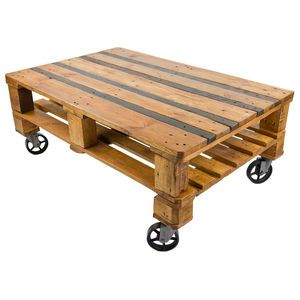 Swinging Monkey Furniture Design | Quinton Pallet Style Coffee Table | notonthehighstreet.com | Upcycled | Reclaimed | Original | Warehouse Home Design Magazine